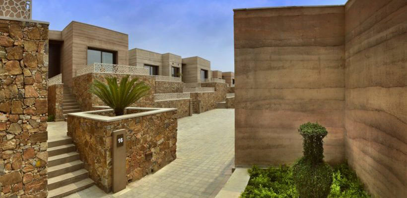 Unique Rammed Earth Architecture